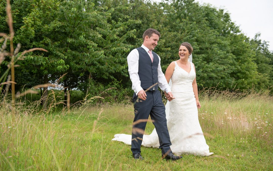 Jess & Ben, Mulbarton Church & Potash Farm wedding